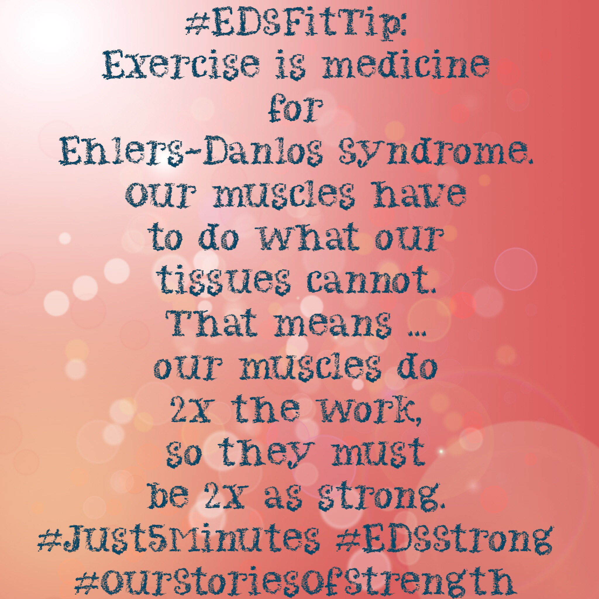 """Exercise is Medicine for Ehlers-Danlos"" – Webinar Summary"