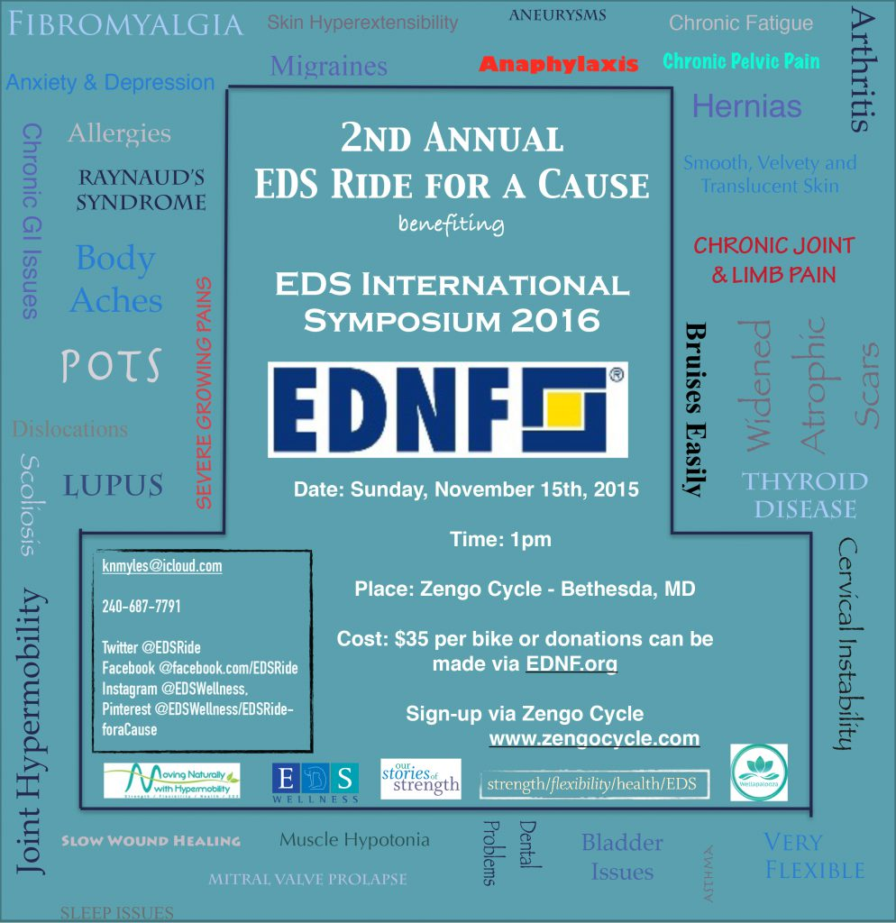 EDS Ride for a Cause 2015 Event flyer