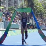 Allysa Seely wins Olympic Gold at the Rio 2016 Paralympics in the Women's Triathlon Race